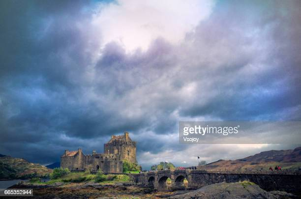 Isle of Skye, Scotland - Cover by mystery Eilean Donan castle and Loch Duich
