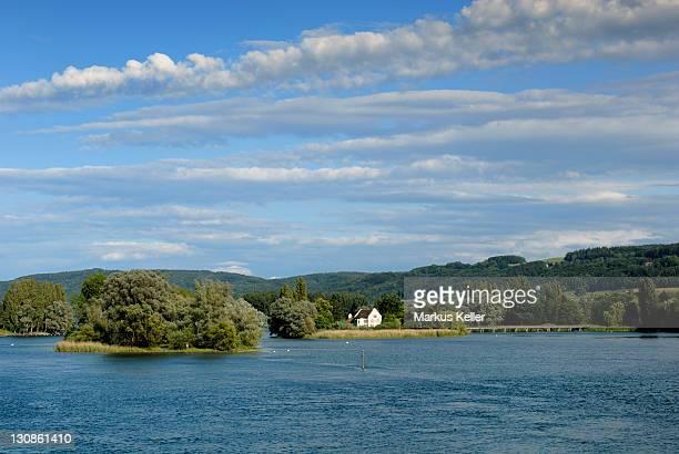 isle of Werd in the Rhine near Stein am Rhein - Kanton Schaffhausen, Switzerland