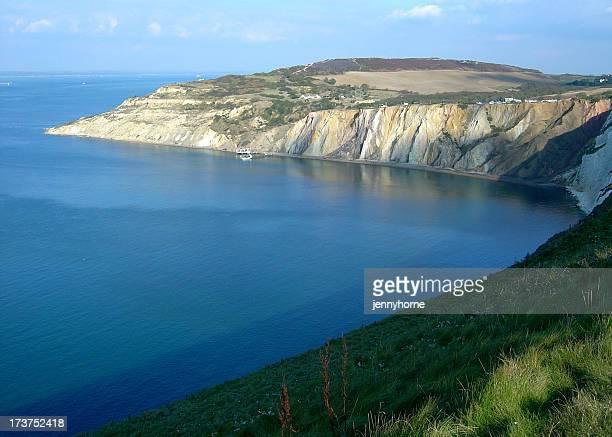 Isola di wight cliffs