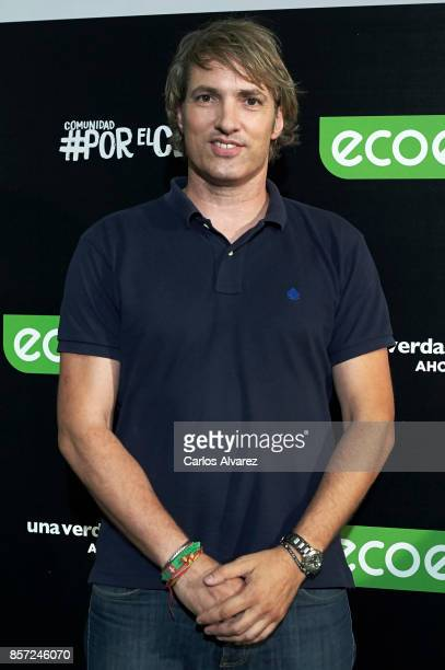 Ismael Beiro attends 'An Inconvenient Sequel Truth to Power' premiere at the Callao cinema on October 3 2017 in Madrid Spain