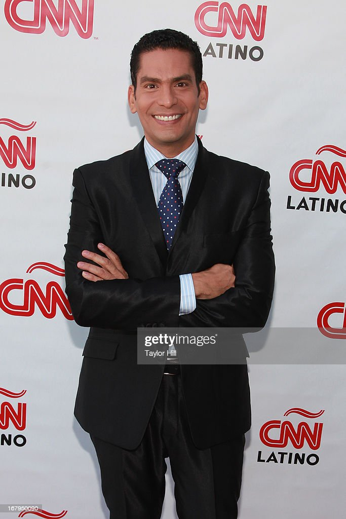 Ismael Cala attends the CNN en Espanol and CNN Latino 2013 Upfront at Ink 48 Hotel on May 2, 2013 in New York City.