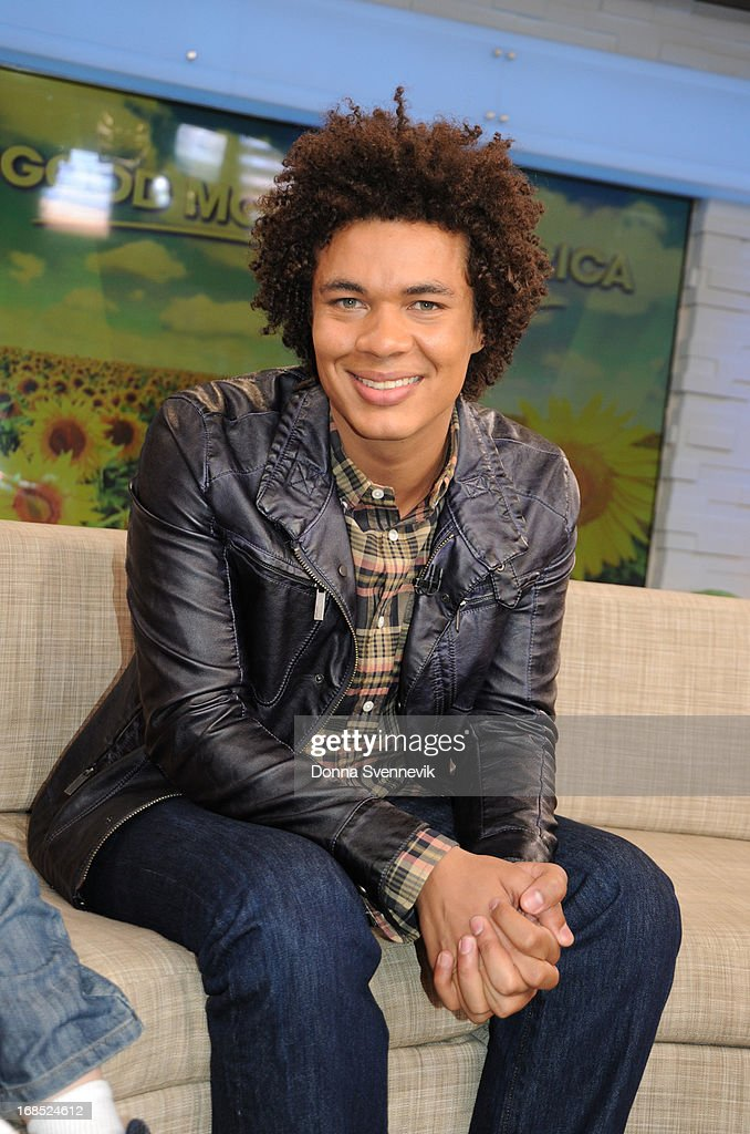 AMERICA - Ismael Cruz Cordova ('Mando') of Sesame Street visits 'Good Morning America,' 5/10/13, airing on the ABC Television Network. (Photo by Donna Svennevik/ABC via Getty Images) ISMAEL