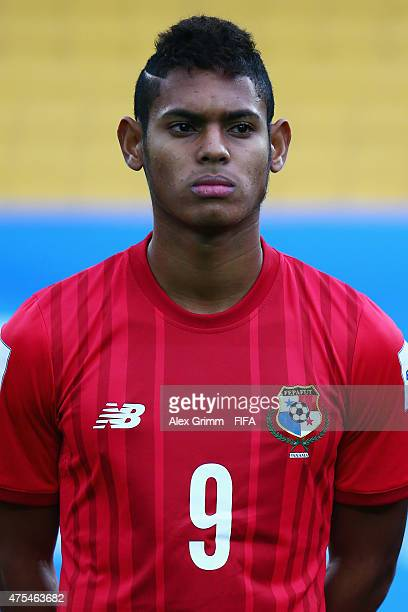 Ismael Diaz of Panama is seen prior to the FIFA U20 World Cup New Zealand 2015 Group B match between Argentina and Panama at Wellington Regional...