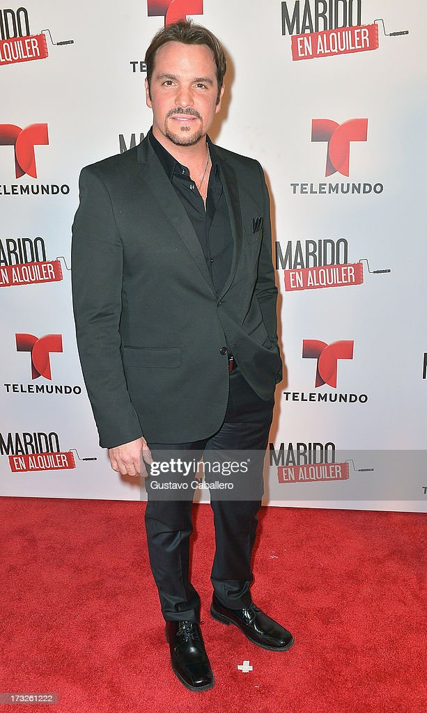 Ismael Larosa attends Telemundos 'Marido en Alquiler' Presentation on July 10, 2013 in Miami, Florida.