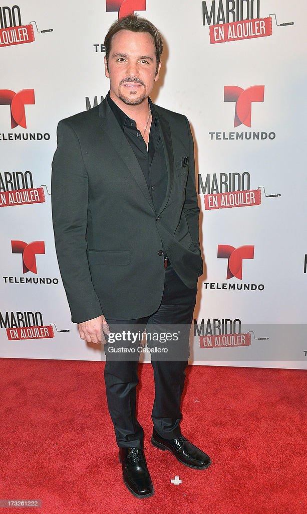 Ismael Larosa attends Telemundos 'Marido en Alquiler' Presentation on July 10, 2013 in Miami, Florida.