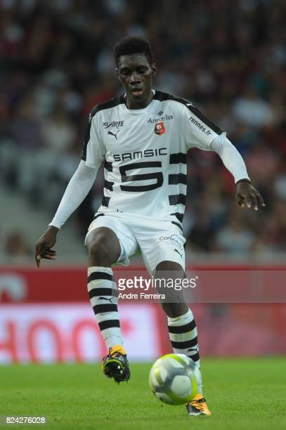 Ismaila Sarr of Rennes during the Friendly match between Lille and Rennes at Stade Pierre Mauroy on July 29 2017 in Lille France
