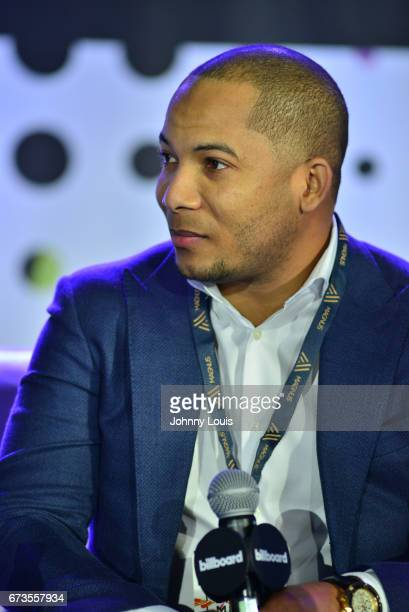 Ismar Santacruz during The Billboard Latin Music Conference Awards I WANT TO BE NUMBER 1panel at Ritz Carlton South Beach on April 26 2017 in Miami...