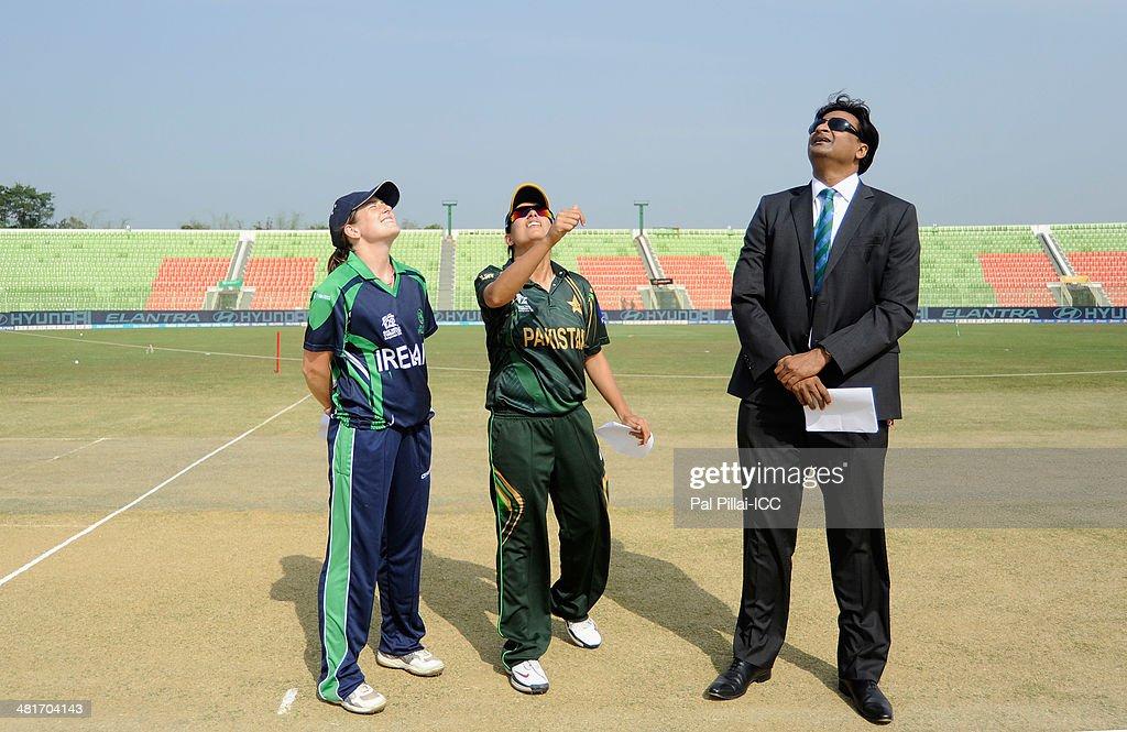 Pakistan Women v Ireland Women - ICC Womens World Twenty20 Bangladesh 2014