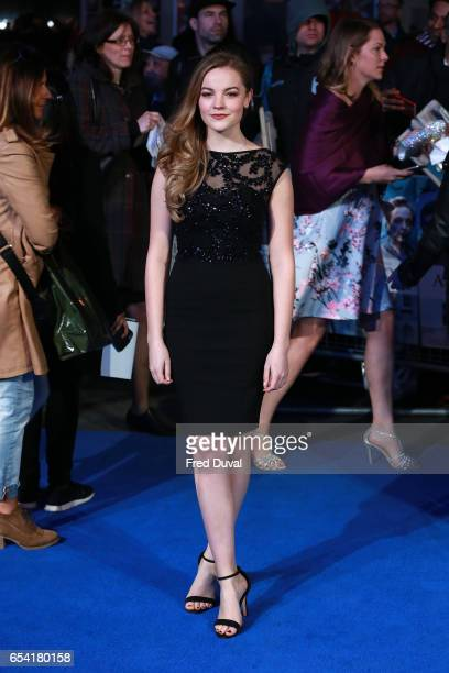 Isobel MeikleSmall attends the World Premiere of 'Another Mother's Son' on March 16 2017 in London England