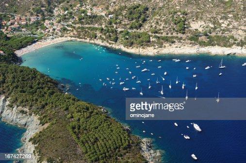 Isola d'Elba-Fetovaia beach : Stock Photo