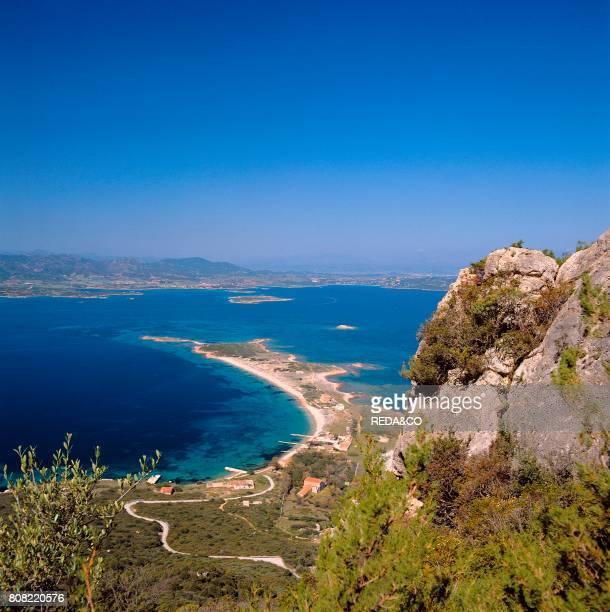 Isola Tavolara Spalmatore e Il Passetto Loiri Porto San Paolo Sardinia Italy Europe