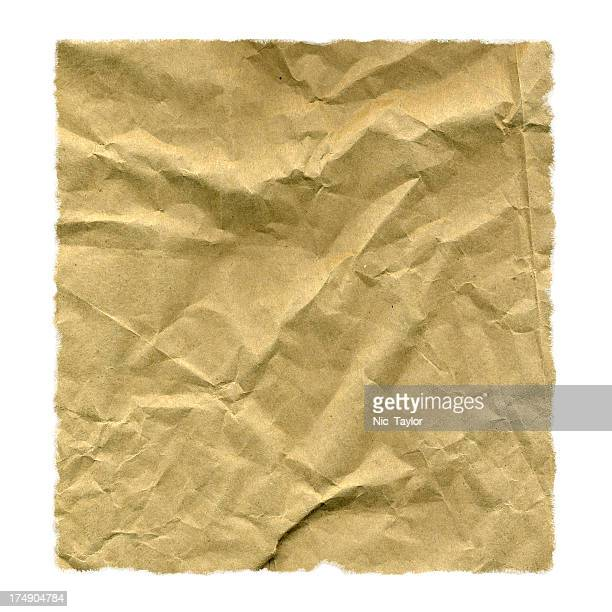 Isolate Brown Paper Bag
