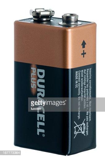 Isolated 9 V battery