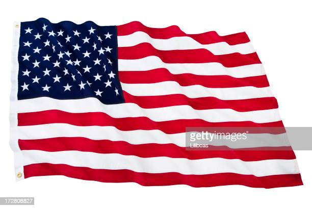 Isolated American Flag (XL)