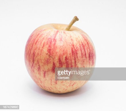 Isolated Apple : Stock Photo