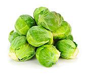 Bruselas sprouts aislado