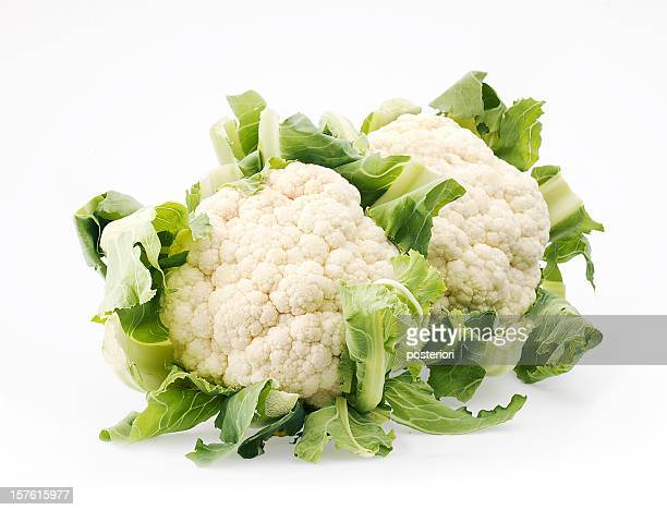 isolated cauliflower