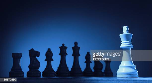 Isolated Chess King