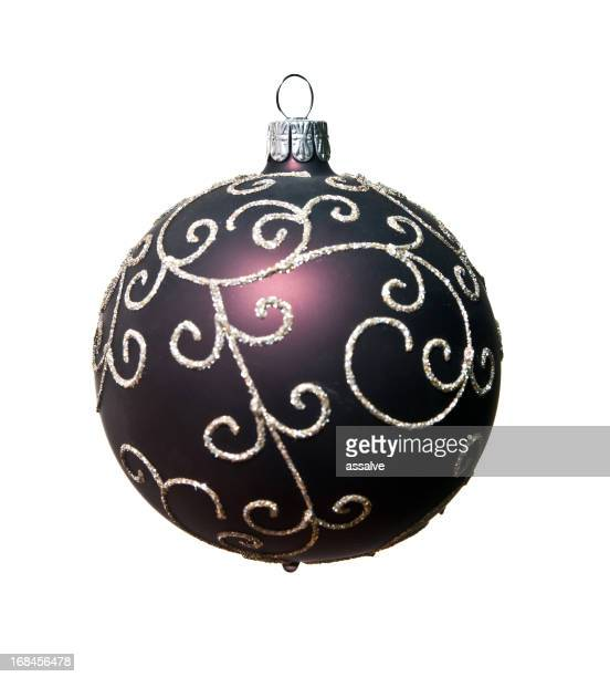 isolated christmas ornament ball kristbaumkugel