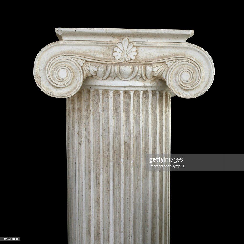 Isolated column