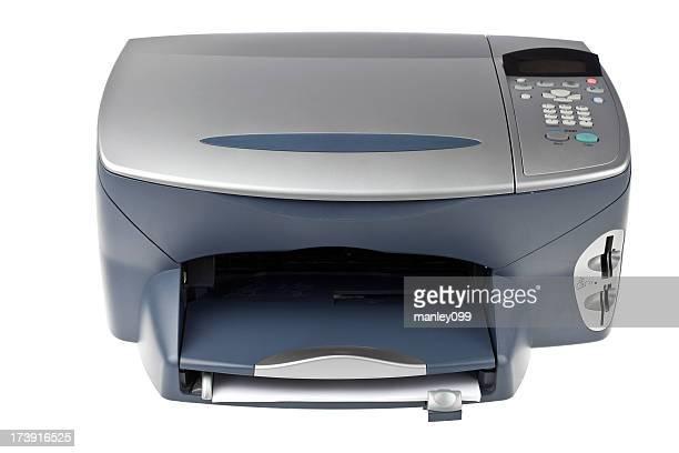 inkjet isolierte computer und Drucker.