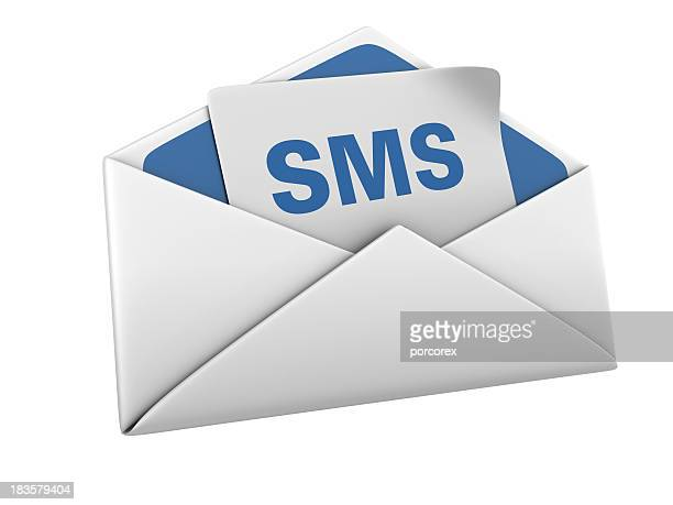 Isolated Envelope with SMS