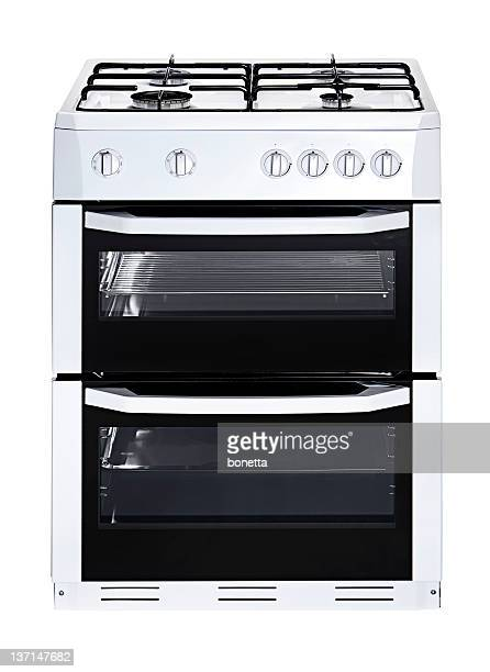 Isolated gas stove and cooktop combination