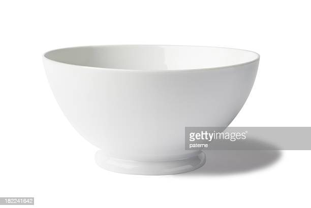 Isolated image of a white bowl