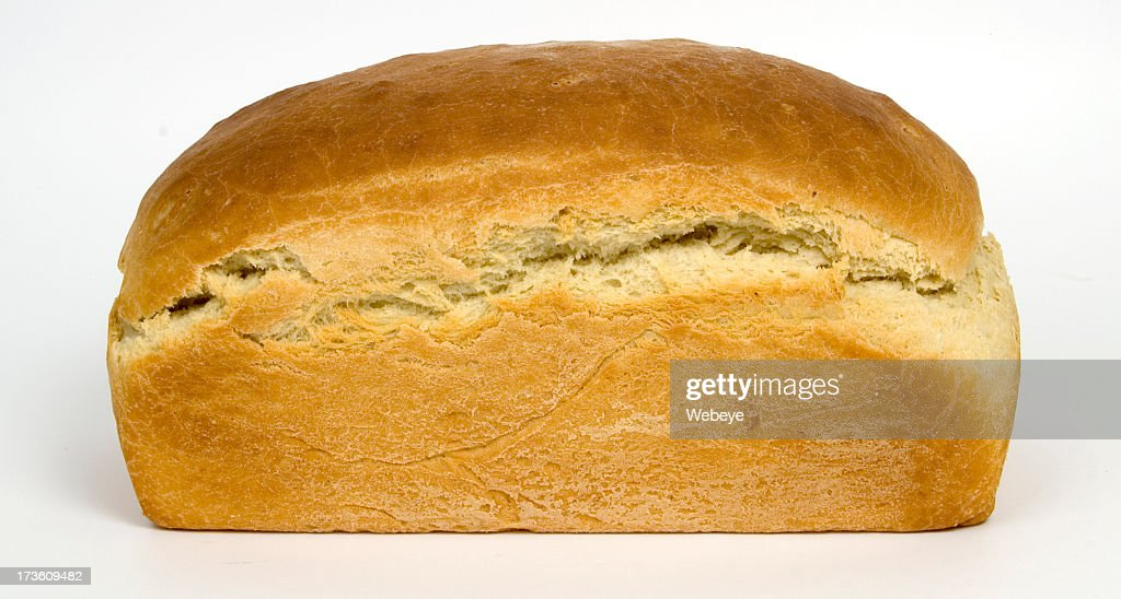 Isolated image of freshly baked bread : Stock Photo