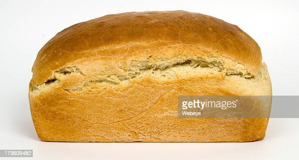 Isolated image of freshly baked bread