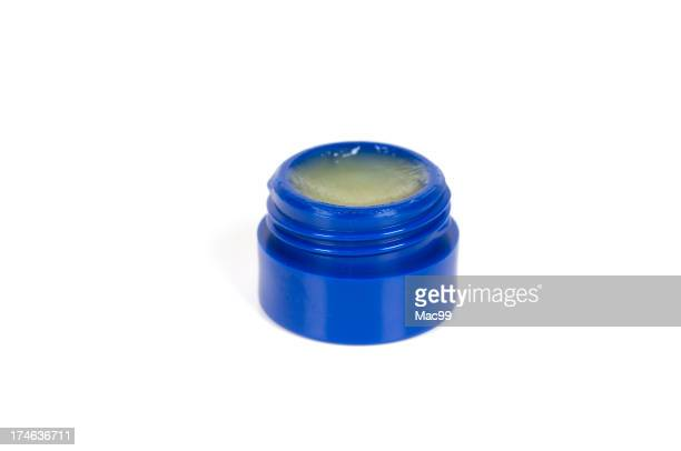 Isolated jar of Lip Balm