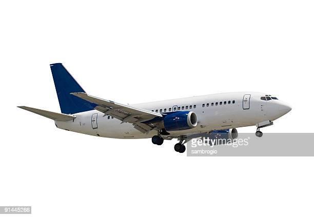 Isolated Jumbo Jet