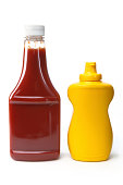 Isolated Objects - Catsup and Mustard