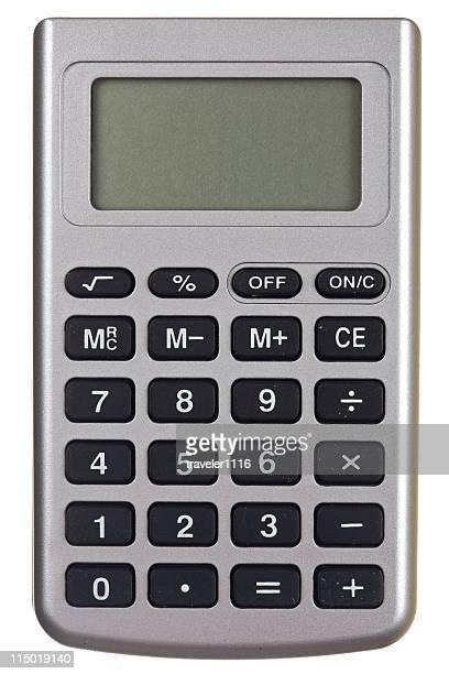 Isolated On White Background Calculator