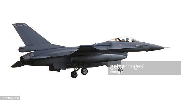 F -16 白のランディング構成