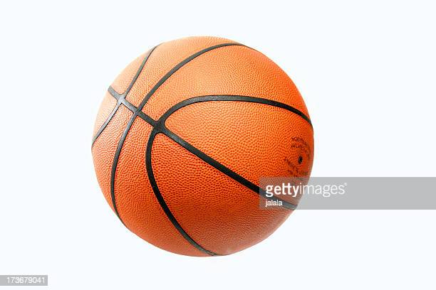 Isolated Orange Basketball