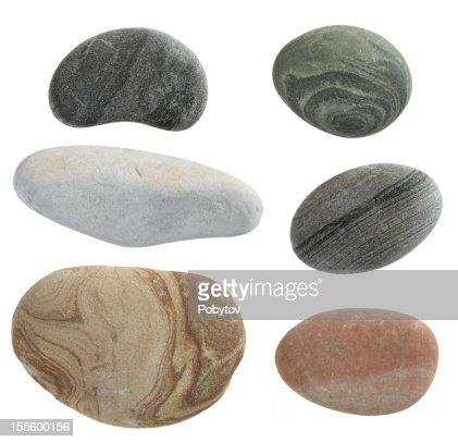 isolated pebbles stone
