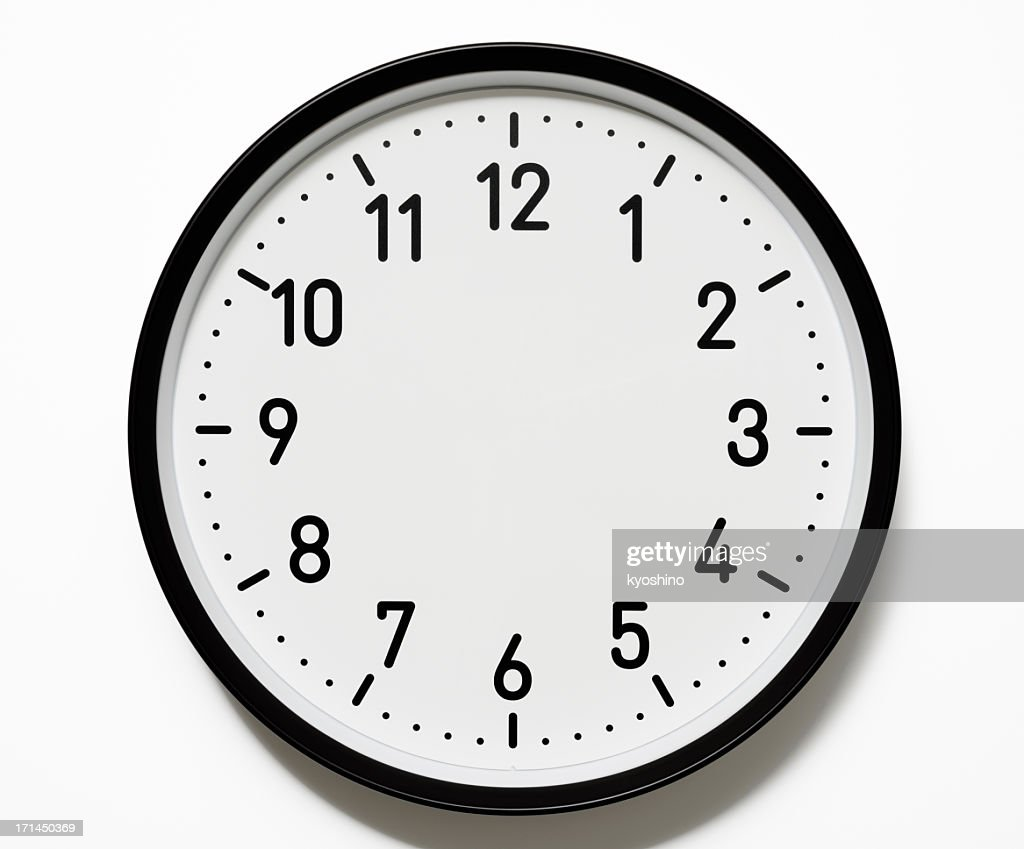 worksheet Blank Analog Clock clock face stock photos and pictures getty images isolated shot of blank on white background
