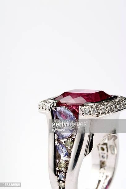Ruby Diamond-Ring