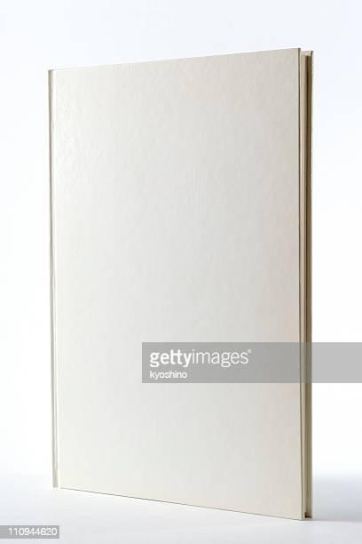 Isolé sur un blanc vide livre sur fond blanc
