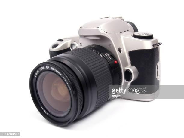 Isolated SLR camera