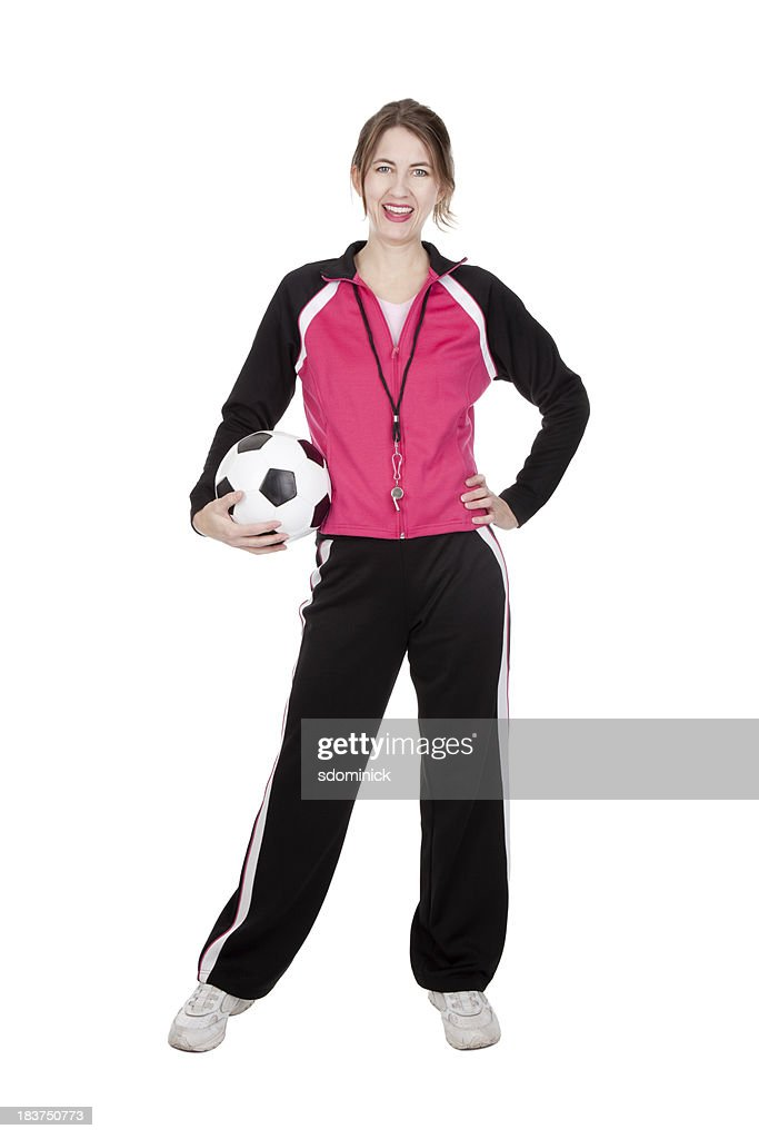 Isolated Soccer Coach