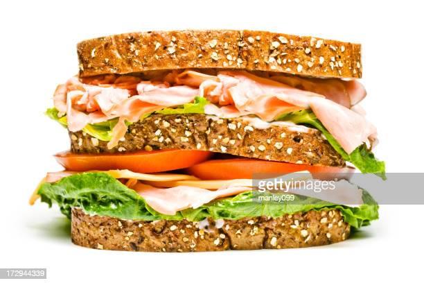 絶縁トルコサンドイッチ、ハムの