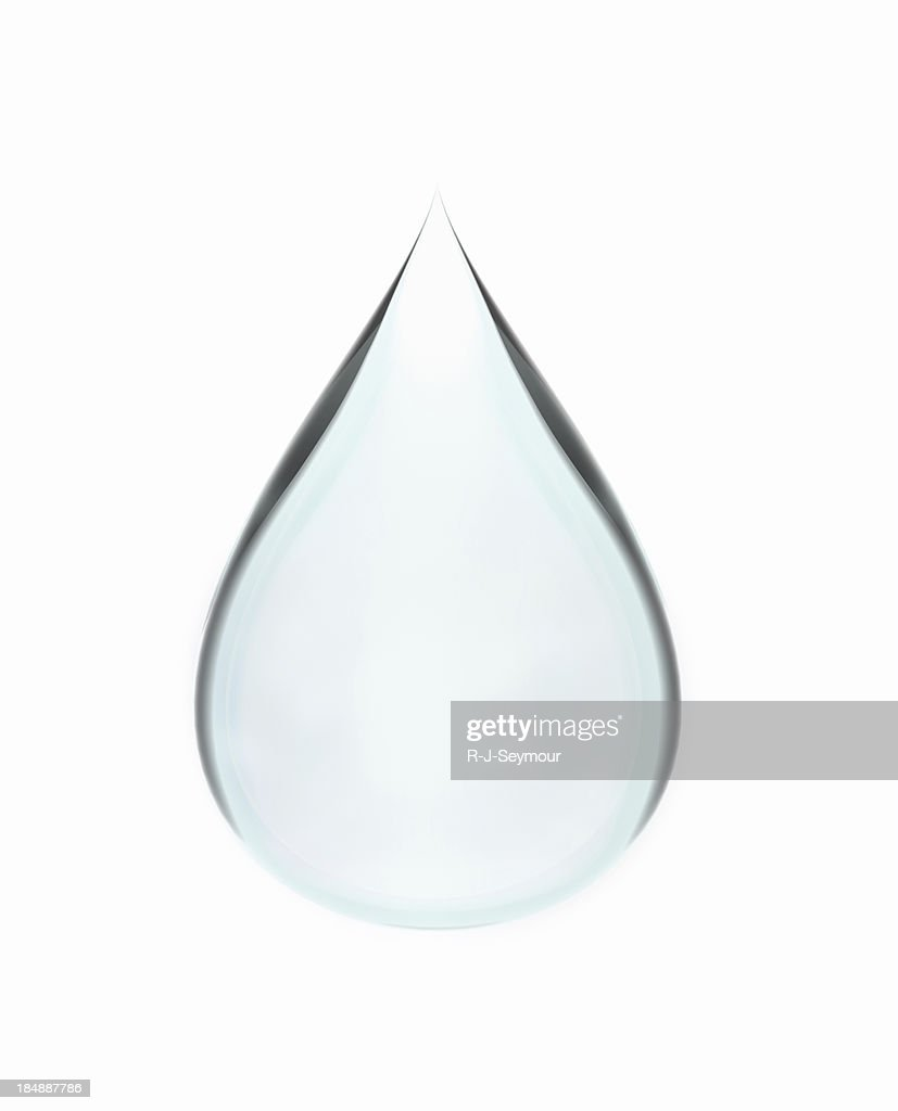 Isolated Water Drop