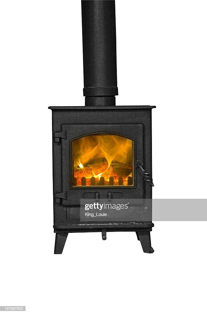 Isolated Wood Burning Stove