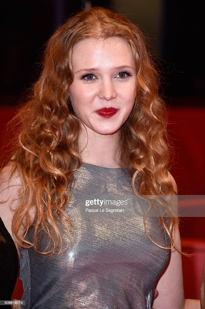 Isolda Dychauk attends the 'Boris without Beatrice' (Boris sans Beatrice) premiere during the 66th Berlinale International Film Festival Berlin at Berlinale Palace on February 12, 2016 in Berlin, Germany.