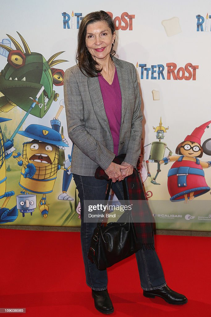 Isolde Barth attends the Ritter Rost Premiere on January 6, 2013 in Munich, Germany.