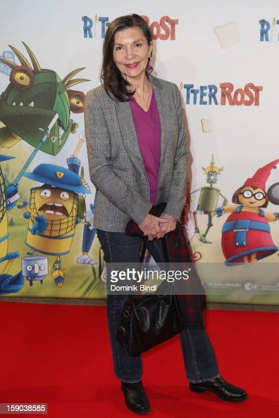 Isolde Barth attends the Ritter Rost Premiere on January 6 2013 in Munich Germany