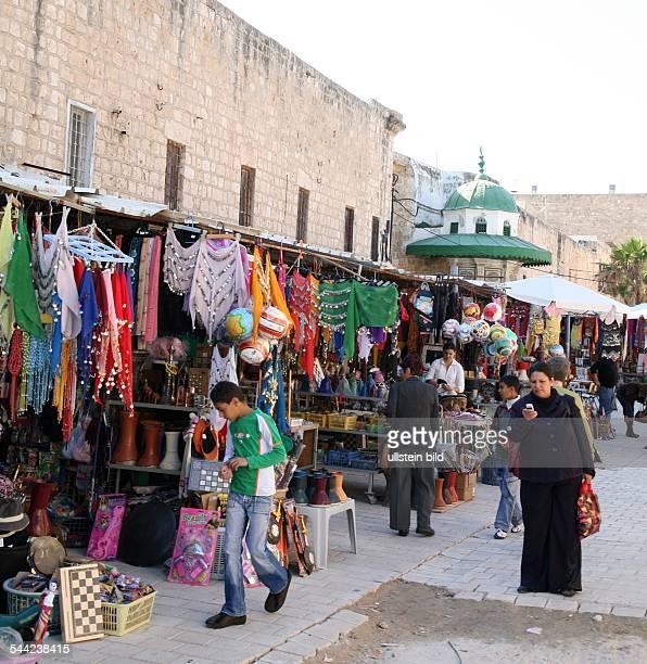 Marktstände in der Altstadt