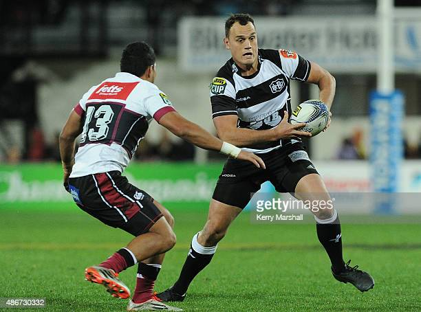 Israel Dagg of Hawkes Bay in action during the ITM Cup match between Hawke's Bay and North Harbour on September 5 2015 in Napier New Zealand